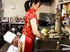 Fucking in japanese_restaurant
