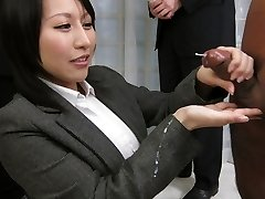 Amazing Japanese bitch Yuuna Hoshisaki in Hottest JAV uncensored Handjobs clip