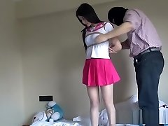 Chinese Schoolgirl Strapped Up