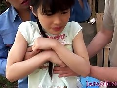 Flexible facialized asian teens mmf 3 way