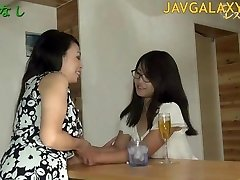 Mature Japanese Bitch and Young Teen Chick