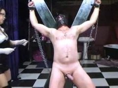 mimosa1 asain Domme milks her slave