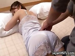 Horny asian MILFS fellating and fucking part1