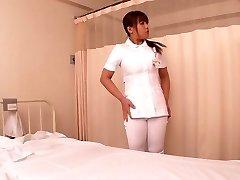Crazy Asian model Kaede Imamura, Amateur in Best medical, nurse JAV video