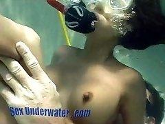 Bamboo Erupts Underwater