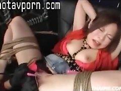Asian Parents Make A Teenie Climax