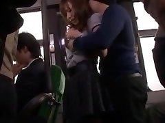 Hottest Japanese model Nana Konishi in Incredible Gang-bang, Stockings JAV clip