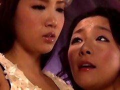 Horny Japanese lady Ayaka Tomada, Aya Asakura in Hottest lezzy, 69 JAV video