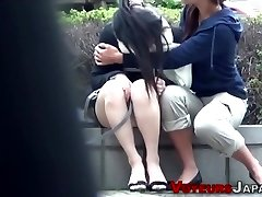 Japanese teen snooped peeing