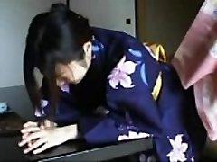 048 Kimono Lady&#039_s Discipline - Spanking