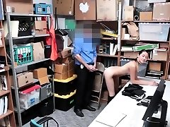 Blonde babe oral job and police boobs Habitual Theft