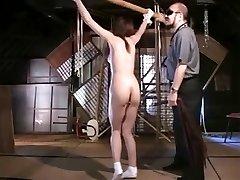Flagellating a Thin Japanese OL
