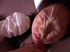 Another Gal Recieves Messy Facial