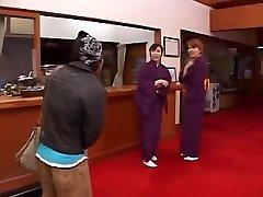 Fabulous Japanese whore in Unbelievable Rimming, Blow-job JAV movie