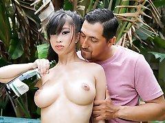 TittyAttack - Hot Asian Stunner Knocker Fucked
