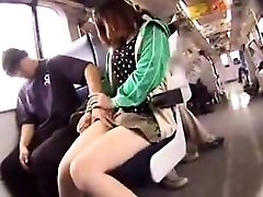 Adorable girl with steamy gams puts her oral skills into actio