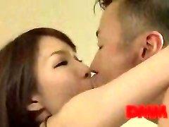 Maisaki Mikuni smooch and pound session