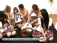 Japán V lányok jó szórakozást orgia