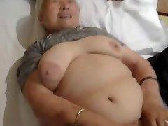 80yr elderly Japanese Granny Still Loves to Tear Up (Uncensored)