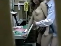 Sultry Chinese babe has a horny guy plowing her snatch in