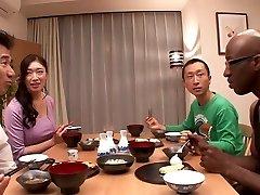 Niesamowita japonka Reiko Kobayakawa w najlepszy wielki kutas, Duże cycki jadę klip