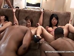 MDDS Tia Ling and Becky Squirts BBC Interracial Fucky-fucky