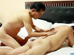Chinese Daddies Sex Play