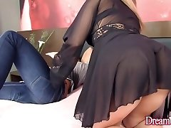 Luscious T-model Sa Fontenelle Takes a Stiff Beef Whistle Up Her Ass Hole
