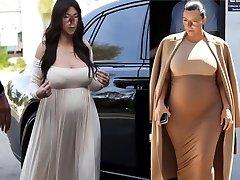 Sexy Preggo Shemale Marisa Kardashian