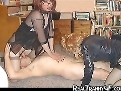 Tranny GFs and Teenager Crossdressers!
