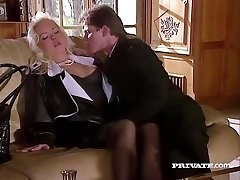 Silvia Saint Pokes the Lawyer and Drains His Jizz
