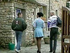 Debora Coeur - German Maid poked by Stranger