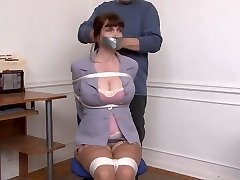 Kristine Chairtied and Caressed
