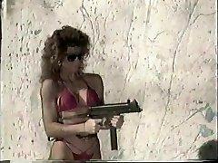 Dolls Shooting Machineguns 1