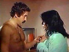 zerrin egeliler old Turkish sex erotic movie sex scene unshaved