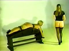 Retro Doll gets spanked and fucked.