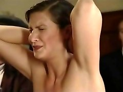 Retro film in which Czech nubiles are being lashed
