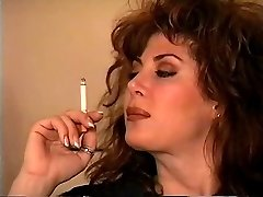Classical Brunette Smoking Solo
