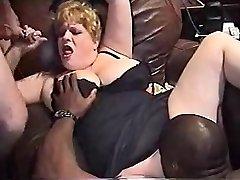 InterracialPlace.org - Vintage VHS BBW moglie