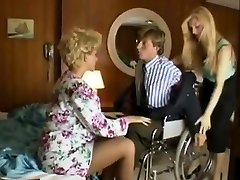 Sharon Mitchell, Jay Pierce, Marco in vintage fuck-fest scene
