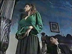Sexy chick in classic porn movie 1
