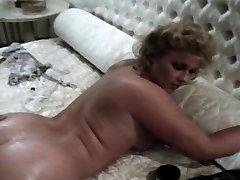 Vintage British Stevie Taylor Gets Her Asshole Splayed