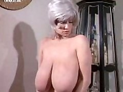 Big-chested Chesty Morgan nude from Deadly Weapons