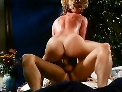 Ginger Lynn Allen, Tom Byron in young mischievous couple in a classical porn movie