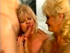Classic Euro Busty Cougars Threeway