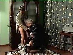 Impressive Homemade movie with Stockings, Grandmothers scenes