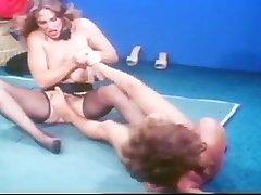 Oral Annie Old-school Catfight