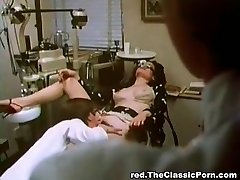 Doctor fucks sexy lady in a cabinet