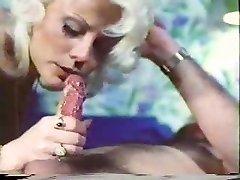 Vintage porn - deep-throat-handjob - Cum Lick