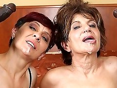 Grannies Hardcore Fucked Interracial Porn with Old Women loving Dark-hued Knobs